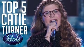 Download Lagu 5 AMAZING Auditions & Performances By CATIE TURNER on American Idol 2018  | Idols Global Gratis STAFABAND
