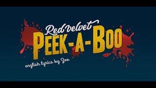 Cover Peek-a-boo/피카부 English Ver. - Red Velvet
