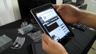 ASUS Google Nexus 7 Android Jellybean 4.1 7 Tablet Unboxing & First Look Linus Tech Tips