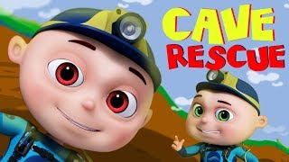 Zool Babies Series - Cave Rescue | Cartoon Animation For Children | Videogyan Kids Shows