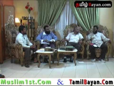Islam And Christianity in Tamil By TamilBayan Com Part 5 of 6
