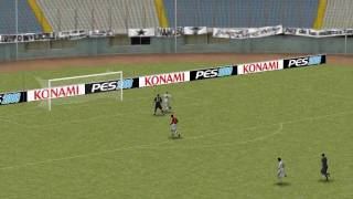 Huge mistake by a GoalKeeper (PES 2008)