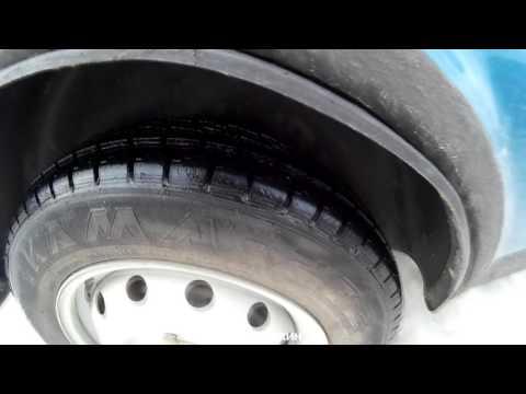 Шины на НИВУ 2-я ч. Кама 232 в гололёд и снег. Выбор шин на НИВУ