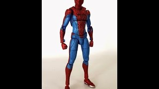 [NGOBAR] Comparison Figma The Amazing Spiderman Ori vs Bootleg