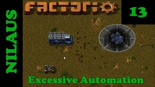 Factorio S8E13 - First fully autonomous Haulage Truck