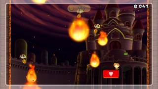 Cloudy with a Chance of Fire Gold Medal - New Super Mario Bros. U (30 Coins)