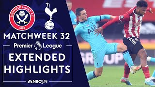 Sheffield United v. Tottenham | PREMIER LEAGUE HIGHLIGHTS | 7/2/2020 | NBC Sports