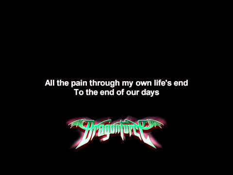 Dragonforce - Youre Not Alone