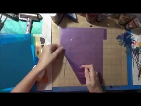 Cutting Stencils on Cameo Silhouette