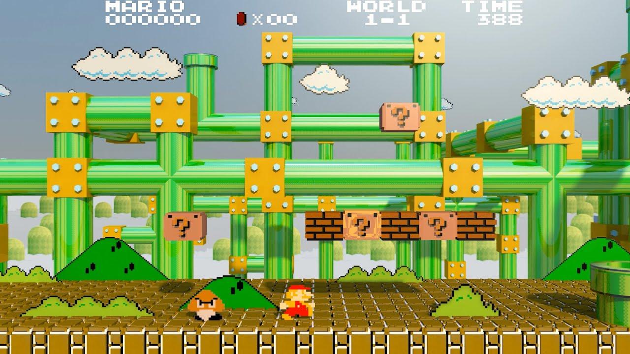 (video game), полное, mario series (video game series), прохождение, скоростное прохождение, tas, без смертей