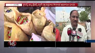 Police And Agricultural Officers Bursted Fake Seeds In Karimnagar Seized Fake Cotton Seeds
