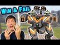 My Worst Games   WIN & FAIL   Intense War Robots Gameplay WR