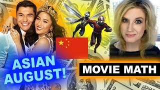 Box Office for Crazy Rich Asians, Ant-Man & The Wasp in China
