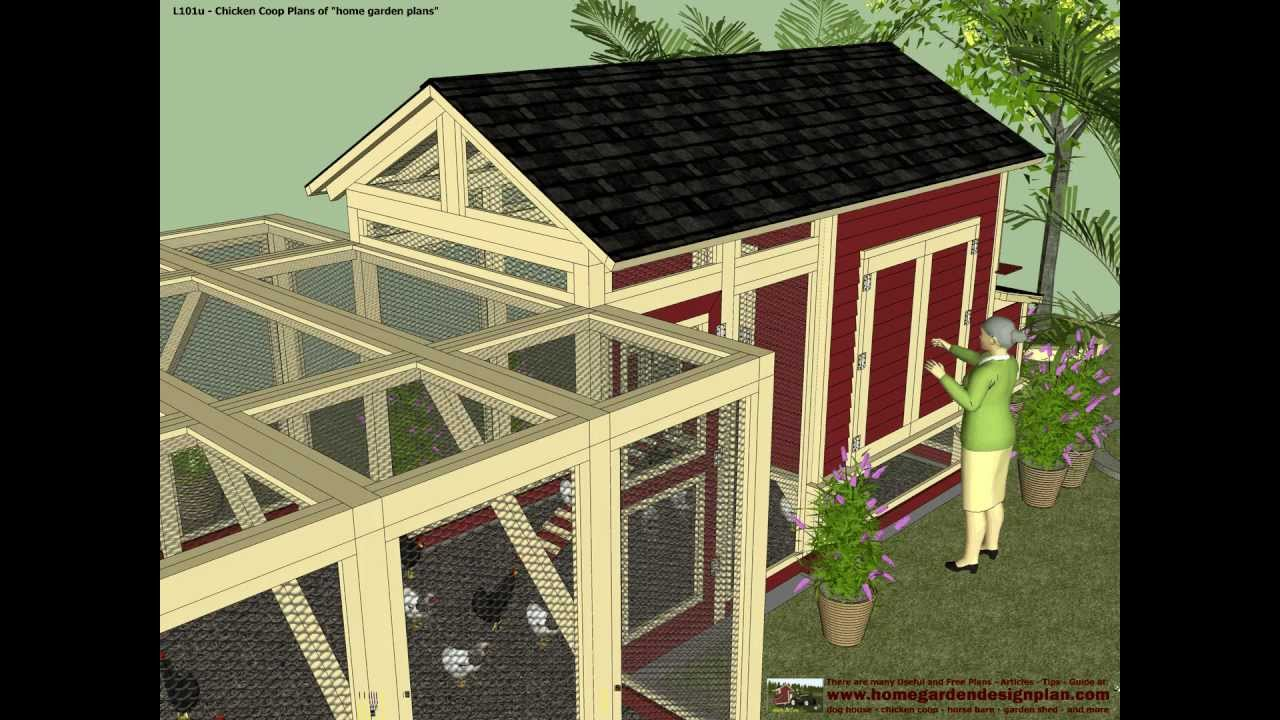 how to build a chicken coop for free