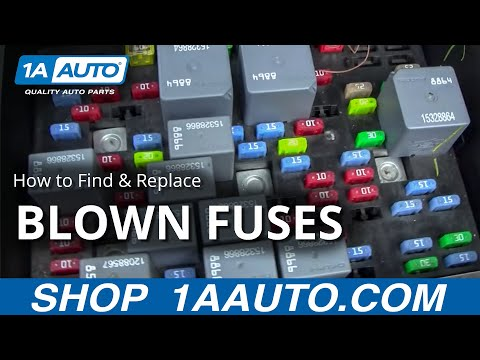 How to Find and Replace A Blown Fuse in Your Car or Truck. Buy quality auto parts at 1AAuto.com
