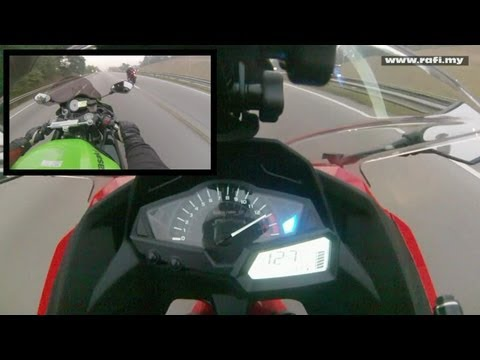 2013 Kawasaki Ninja 250R Top Speed