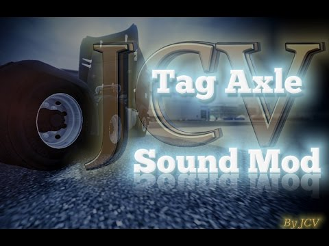ETS2 Tag Axle Sound Mod