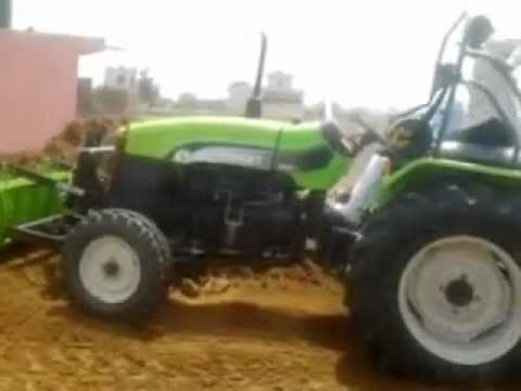 Preet Tractor Stunt video