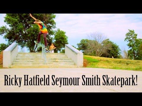 Ricky Hatfield Seymour Smith Skatepark!