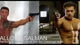 SYLVESTER STALLONE AND SALMAN KHAN IN EXPENDABLES 4