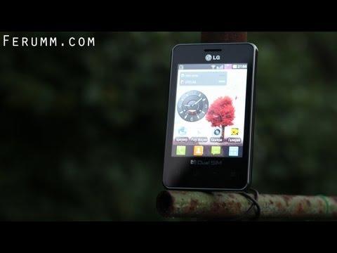Видеообзор LG Optimus L3 Dual SIM (LG-E405) от сайта Ferumm.com