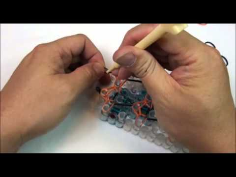 Double Diamond Rainbow Loom Bracelet Tutorial