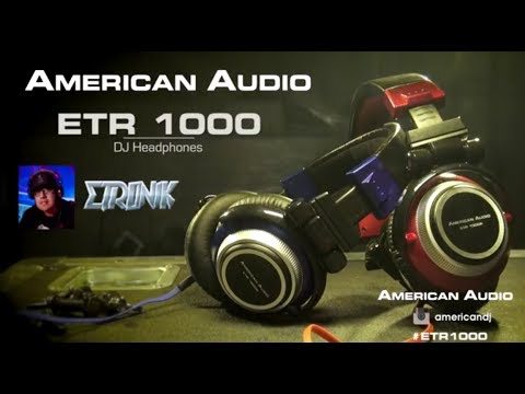 American Audio ETR 1000 - Pro DJ Headphones