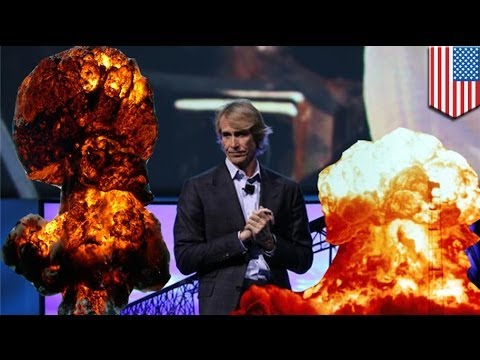 Michael Bay blows Samsung press conference, runs off stage