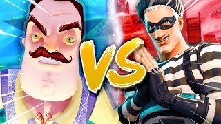 HELLO NEIGHBOR! - Fortnite: Mini-Game ft Joost, Link & Rudi