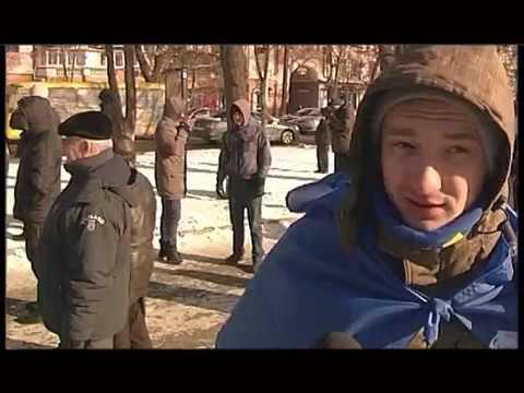 """""""Молодь Свободи"""" про події на Полтавському Майдані"""