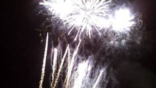 Fuegos artificiales. Festa Major de Sabadell 05-09-2011. Parte 3.