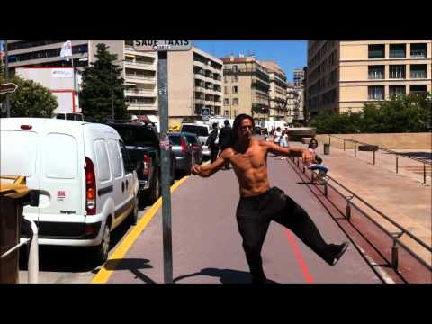 """Ca pique..!"" Ematom parkour/freerunning session mairie"