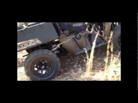 2013 Polaris Ranger 800 Midsize Hill Climb!