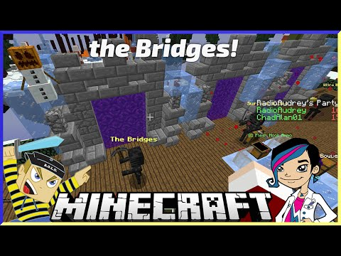 Minecraft - Another Awesome Bridges with Gamer Chad Alan on the Mineplex