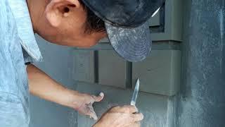 Xem anh thợ đắp đấu vuông nhà kiến trúc pháp nhanh và đẹp