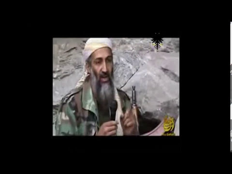 Insolito video de Osama y habla de Bolivia