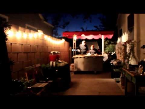 Taco Cart Catering For A Backyard Wedding Reception in Santa Ana CA