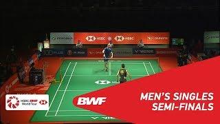 SF   MS   Viktor AXELSEN (DEN) [5] vs CHEN Long (CHN) [3]   BWF 2019