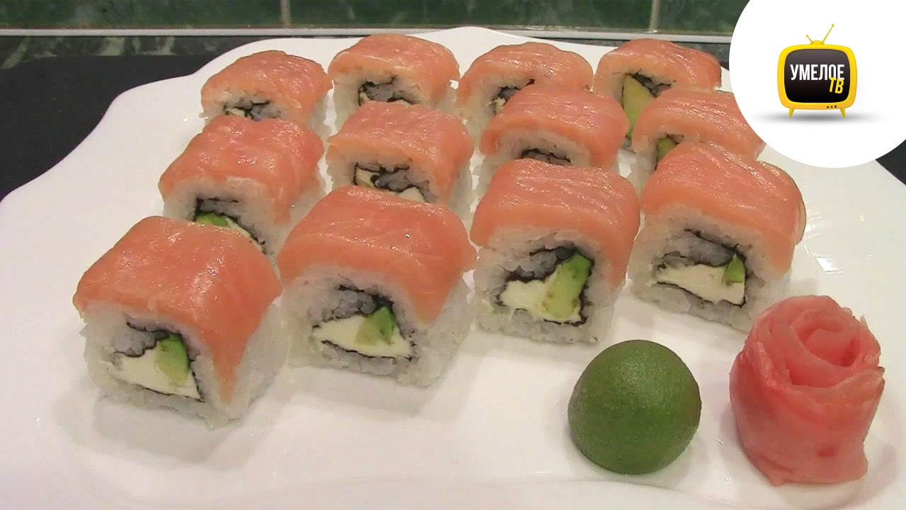 Мастер-класс по суши пошаговый рецепт с фото