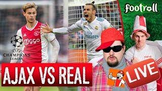 Reakcje na meczu Ajax vs Real | feat. JZW
