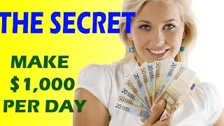 How To Make Money Online Fast 2016 & 2017 -  Earn $1000 Per Day With No Experience