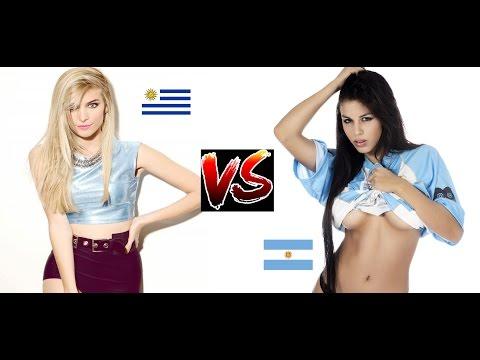 2 ARGENTINOS vs 2 URUGUAYOS (Competencia amistosa)