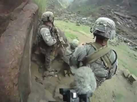 COMBAT FOOTAGE: Soldiers Ambushed In Kunar Provence