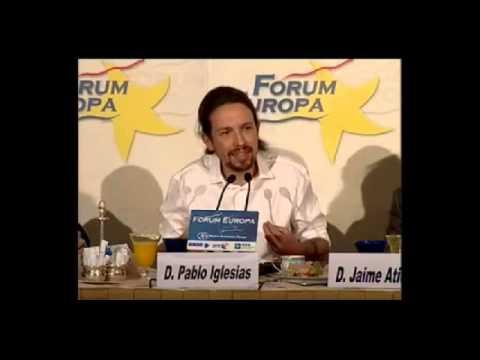 Pablo Iglesias sobre el referendun de Cataluña