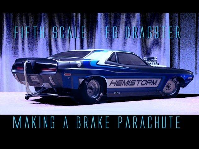 How to make a BRAKE PARACHUTE - FG Dragster RC custom build