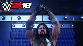 WWE 2K19 - AJ Styles (Entrance, Signature, Finisher)