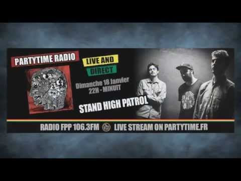 Stand High Patrol Feat Pupa Jim And Rootystep At Party Time Reggae Show - 18 Jan 2015 video