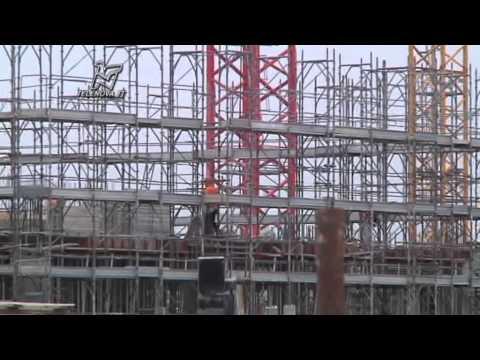 I cantieri del villaggio Expo, dai rendering alla realtà - TGN 03/10/2013