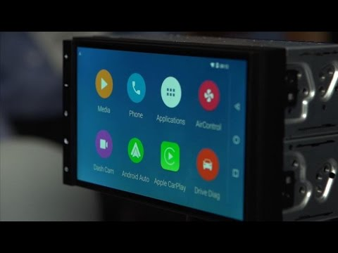 Parrot RNB 6 car system loves CarPlay and Android Auto