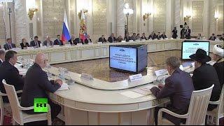 Путин проводит заседание оргкомитета «Победа»